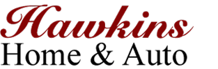 Hawkins Home and Auto Logo